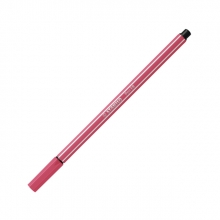 , Viltstift stabilo pen 68/49 aardbeien rood