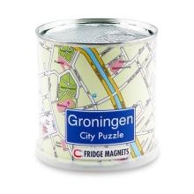 Groningen city puzzel magnetisch