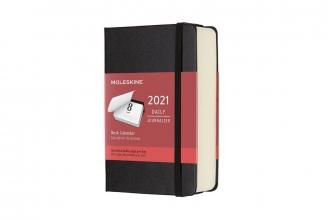 , Moleskine 12 MND Agenda - 2021 - Dagelijks - Pocket (9x14 cm) - Desk Calendar - Harde Kaft