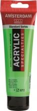 , Talens amsterdam acrylverf tube 120 ml. reflexgroen 672