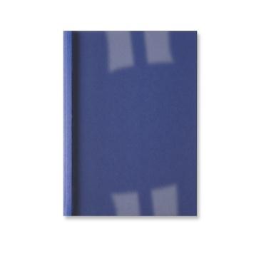,Thermische omslag GBC A4 1.5mm linnen donkerblauw 100stuks