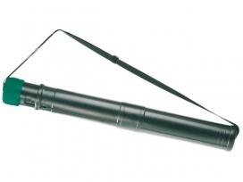 ,Tekeningkoker Linex zoom 70-124cm doorsnee 7,5cm zwart