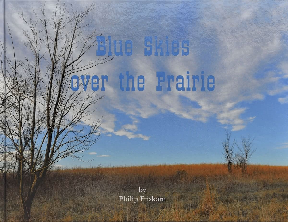 ,Blue skies over the Prairie