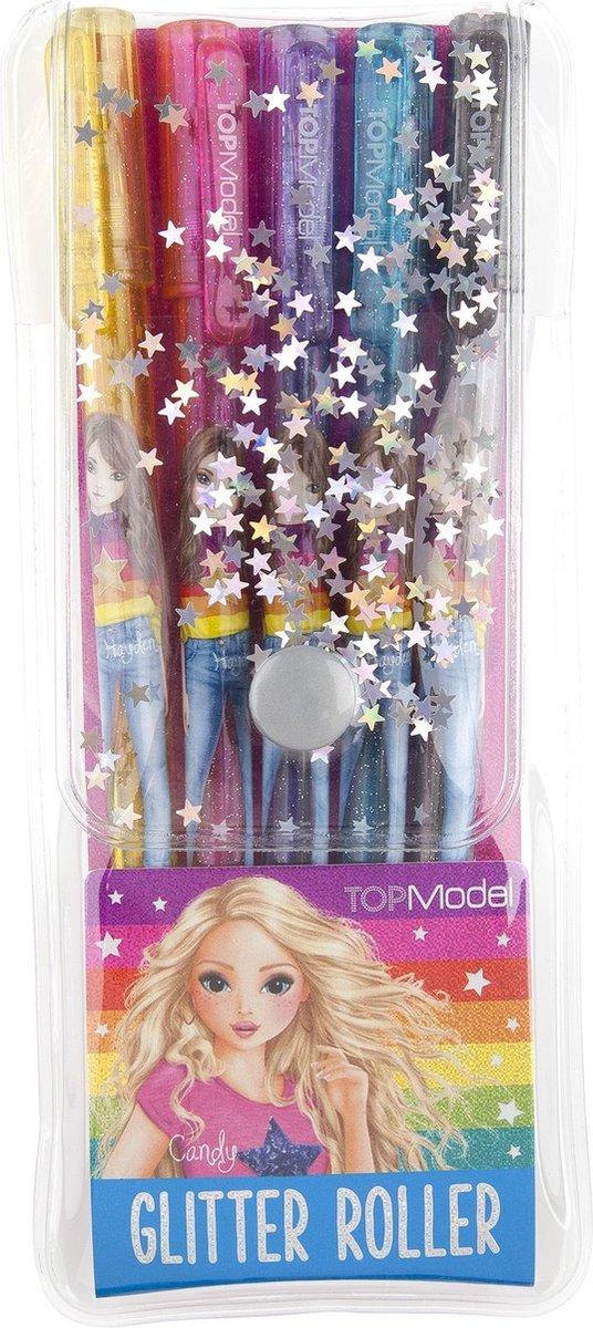 ,Topmodel glitter gelpen-set