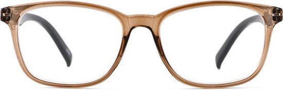 ,Leesbril I Need You Lucky +3.00 dpt bruin-zwart