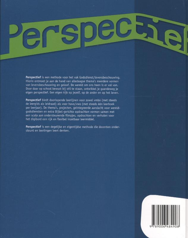 Desire Brokerhof, Hilde van Halm, Mattijs Bron, Inge Brokerhof,Perspectief Havo/vwo deel 3 Leer-opdrachtenboek