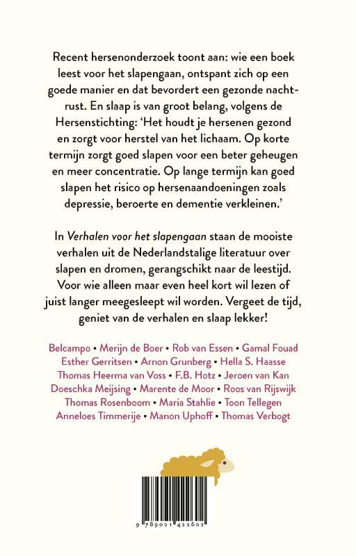 Diverse auteurs,Verhalen voor het slapengaan