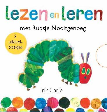 Eric Carle,Lezen en leren met Rupsje Nooitgenoeg