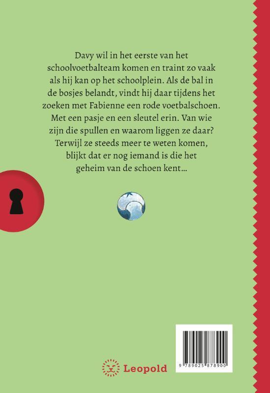 Gerard van Gemert,Het geheim van de rode voetbalschoen