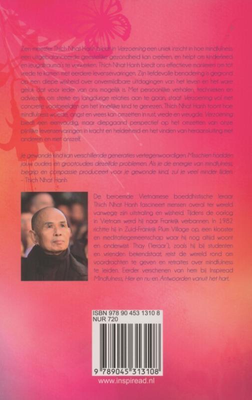 Thich Nhat Hanh,Verzoening