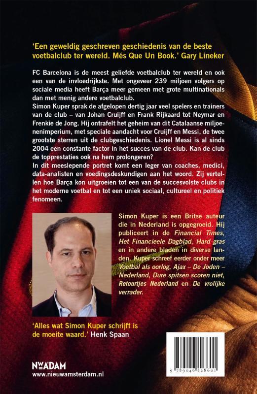 Simon Kuper,FC Barcelona - Het imperium