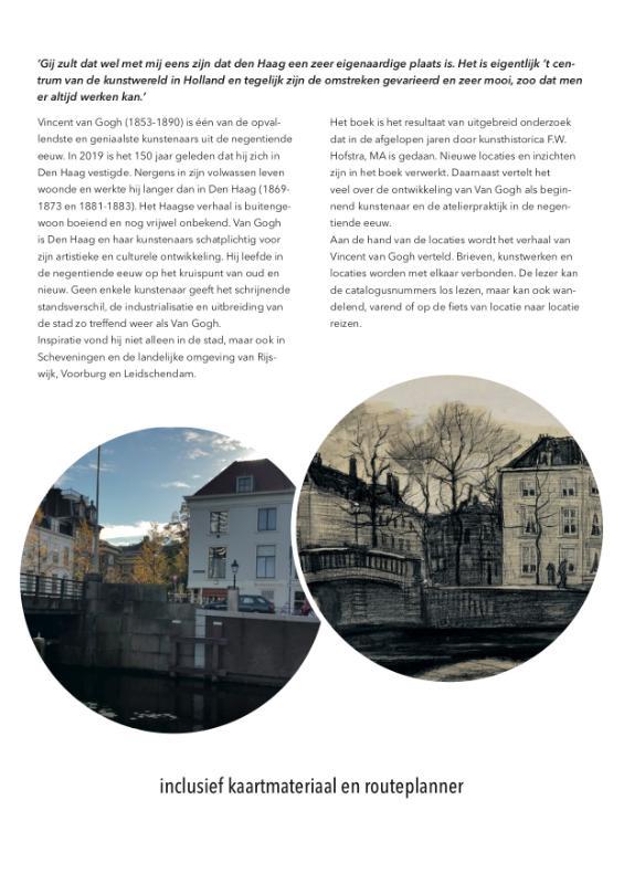 Feikje Wimmie Hofstra,De Haagse streken van Vincent van Gogh