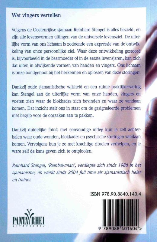 Reinhard  Stengel,Wat vingers vertellen