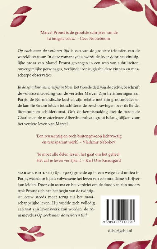 Marcel Proust,In de schaduw van meisjes in bloei
