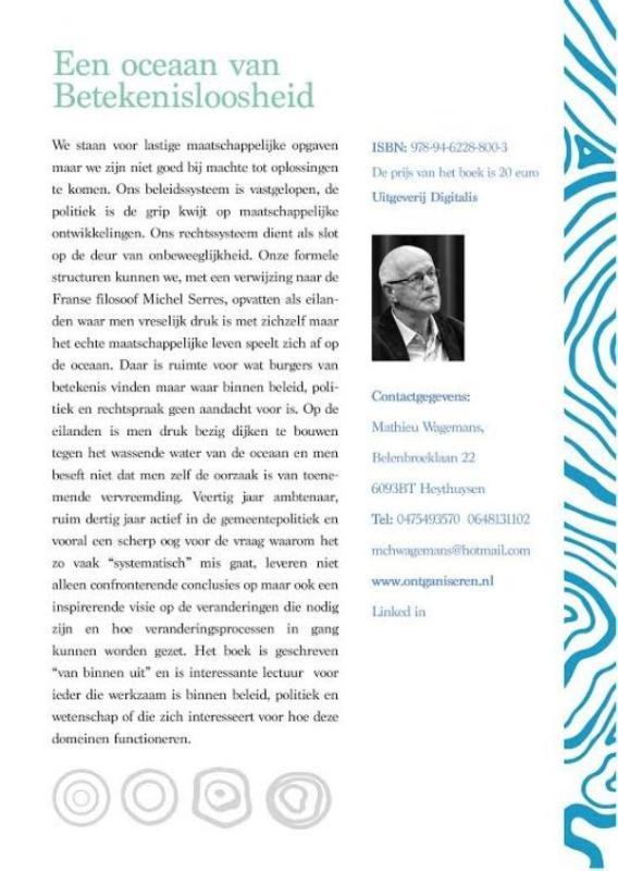 Mathieu Wagemans,Een oceaan van betekenisloosheid