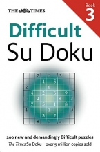 The Times Mind Games The Times Difficult Su Doku Book 3