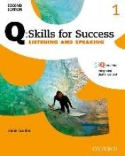 Scanlon, Jaimie Q Skills for Success: Level 1: Listening & Speaking Student Book with iQ Online