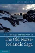 Ross, Margaret Clunies Cambridge Introduction to the Old Norse-Icelandic Saga