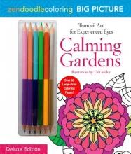 Zendoodle Coloring Big Picture Calming Gardens