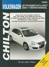 Haynes Publishing VW Jetta/Rabbit/Gti/Golf 2006-11 (Chilton)