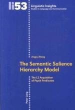 Jingyu Zhang The Semantic Salience Hierarchy Model