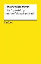 Raimund, Ferdinand Der Alpenkönig und der Menschenfeind