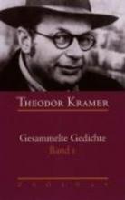 Kramer, Theodor Gesammelte Gedichte 1