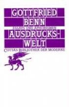 Benn, Gottfried Ausdruckswelt