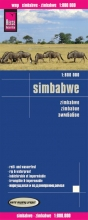 , Reise Know-How Landkarte Simbabwe  1 : 800.000