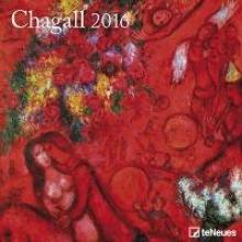 2016 Marc Chagall 30 x 30 Grid Calendar