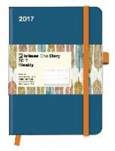 Cool Diary Wochenkalender Petrol/Feather 2017 16x22