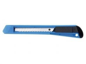, Snijmes Westcott Office 9mm met kunststof houder blauw
