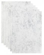 , Kopieerpapier Papicolor A4 200gr 6vel marble grijs
