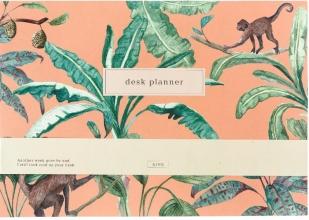 , &INK Deskplanner - Jungle - Weekplanner