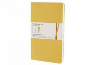 Moleskine Plain Volant Large Golden Yellow Cover