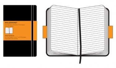 Moleskine Pocket Ruled Notebook