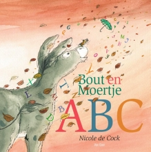 Nicole de Cock Bout en Moertje ABC + 26 letterkaarten in een doosje
