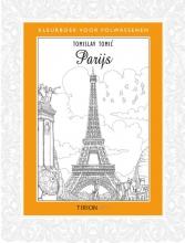 Tomislav  Tomic Kleurboek voor volwassenen - Parijs