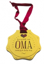 Een medaille voor oma