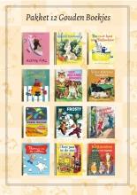 , Pakket 12 Gouden Boekjes