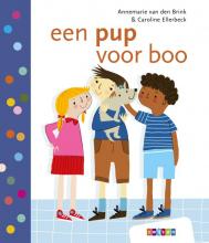 Annemarie van den Brink , een pup voor boo