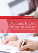 Dominique Neyts Katrien L.B. Deroey, Academic English: Writing a research article