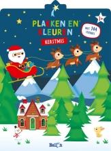 , Kerstmis - Plakken en kleuren