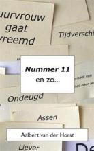 Aalbert van der Horst Nummer 11 en zo...
