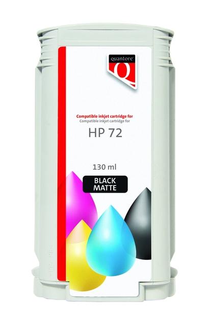 ,Inkcartridge Quantore HP 72 C9403A mat zwart