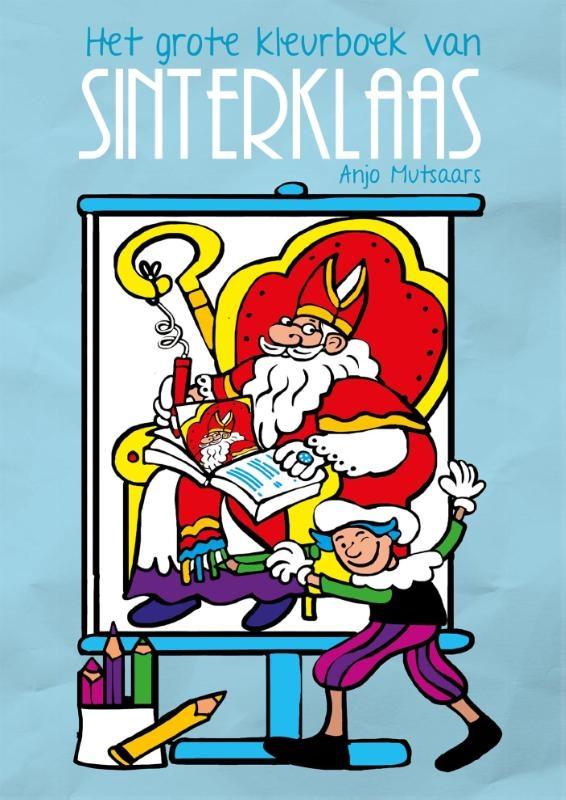 ,Het grote kleurboek van Sinterklaas