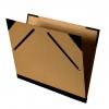 ,Tekenmap Canson 52x72cm kraft sluiting met elastieken