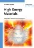 Agrawal, Jai Prakash,High Energy Materials