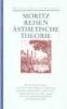 Moritz, Karl Philipp,Schriften zur Popularphilosophie / Reiseschriften / Ästhetische Theorie