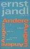 Jandl, Ernst,Andere Augen, verstreute gedichte 1, deutsches gedicht